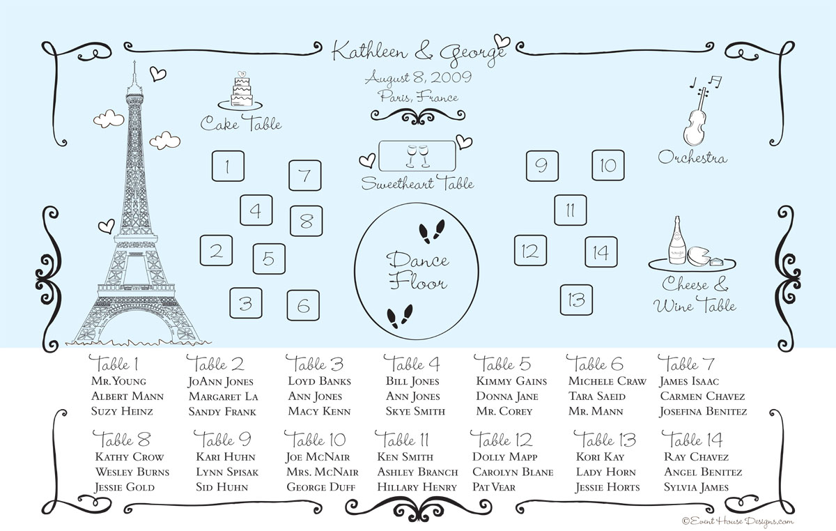 How To Arrange The Tables For A Wedding Reception Save